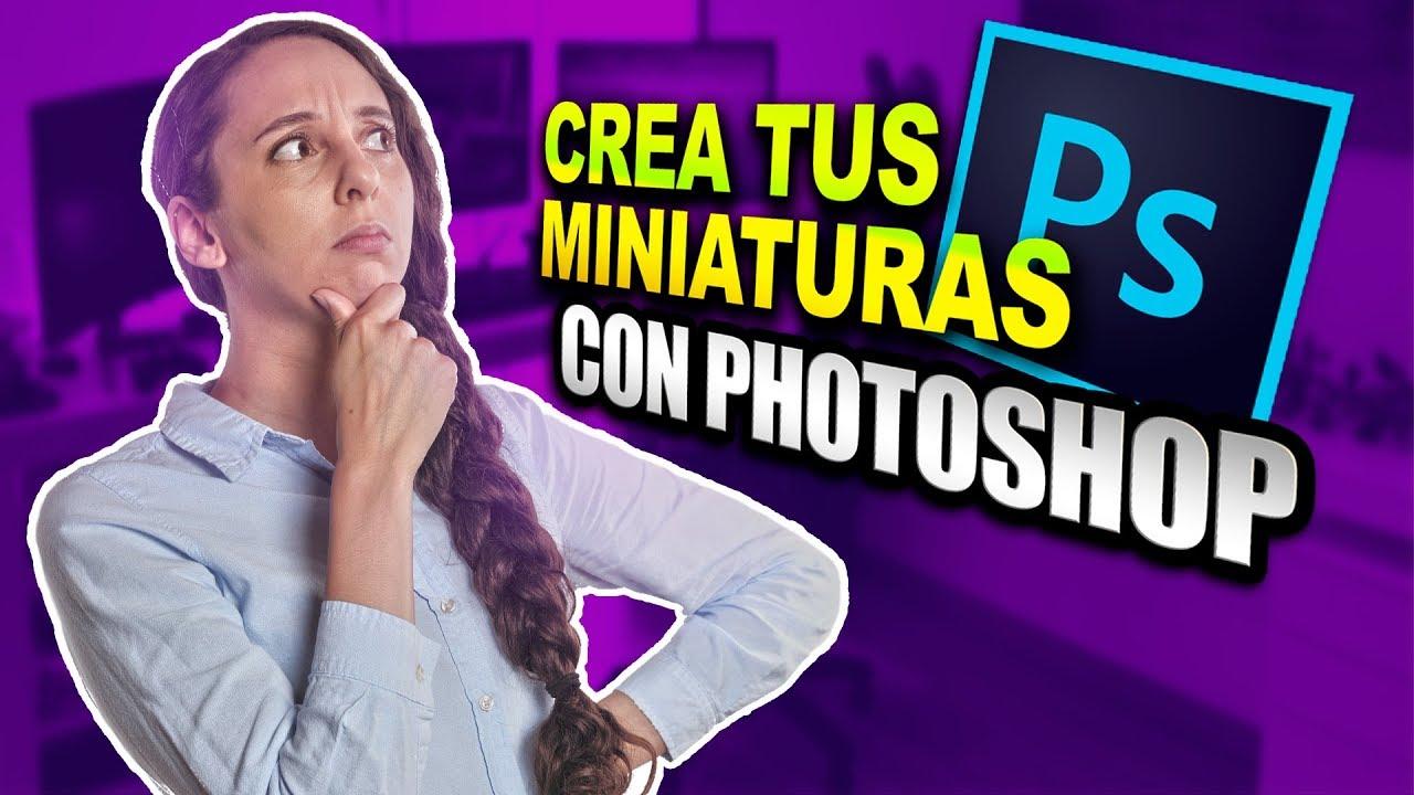 Como Hacer Miniaturas Para Youtube Estilo Auronplay Con Photoshop
