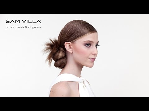 ponytail-hairstyles:-twisted-bun-updo