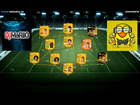 DjMaRiiO vs DoctorePoLLo | PARTIDO DE RISAS | Ultimate Team FIFA 14