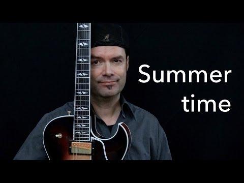Summertime - Achim Kohl - Jazz Guitar Improvisation with Tabs