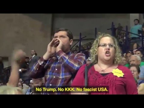 Blind woman ejected at Trump Fayetteville rally