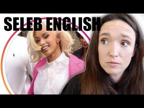 Cardi B - Seleb English