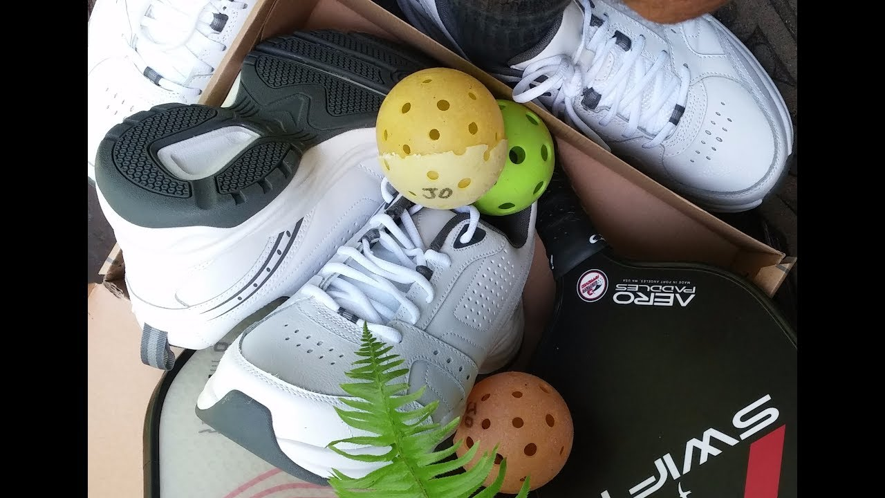 7376b51223b55f Playing Pickleball Wearing Costco Court Shoes - YouTube