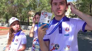 English in Russia? Testing the English of the World Cup 2018 Volunteers :) Volgograd