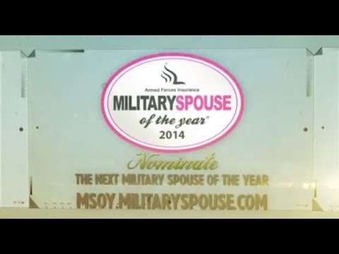Armed Forces Insurance Military Spouse of the Year 2014 Nominations