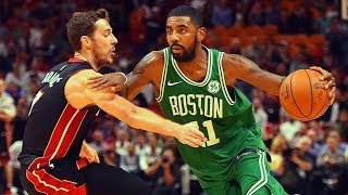 """Video NBA """"Clutch"""" Moment - Kyrie Irving Scores 3 Straight Baskets to Win Against Miami Heat download MP3, 3GP, MP4, WEBM, AVI, FLV November 2017"""