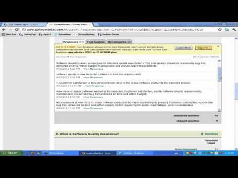 What is Software Quality? Software QA Testing interview question and answer