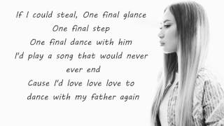 Jessica Sanchez : Dance With My Father - Lyrics