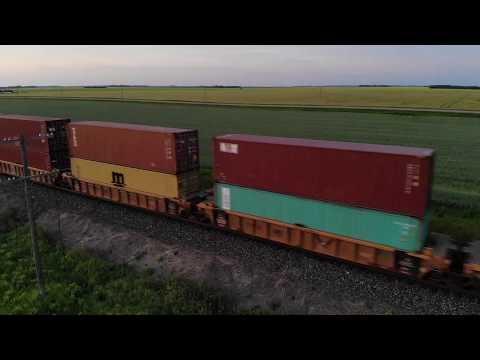 Drone Video: Sunrise Dash 9
