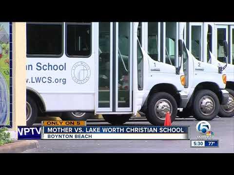 Mother vs. Lake Worth Christian School