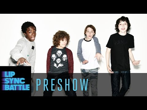 The Cast of Stranger Things on the Lip Sync Battle Preshow