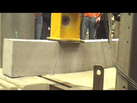 Reinforced Concrete Beam Shear Failure