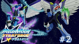 Mega Man Star Force: Pegasus - Part 2: Battle Tutorials From Mega... Just Mega...