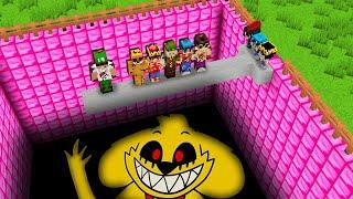 ¡NO CAIGAS EN LA PISCINA DE MIKECRACK.EXE! 🔪😱 Minecraft: SI TE RIES PIERDES! - Minecraft mods