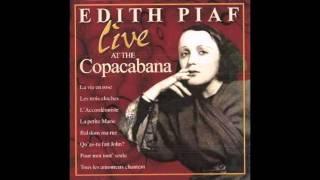Bal Dans Ma Rue (Live at the Copacabana) - Edith Piaf