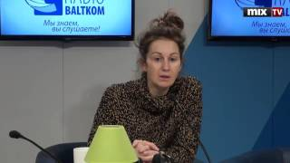"""Редактор портала 3ade.lv, журналист Алмаза Пирха в программе """"Зеленая лампа""""#MIXTV"""