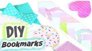 EASY DIY BOOKMARKS for Back to School - Corner Bookmarks   BACK TO SCHOOL DIYs! by SoCraftastic