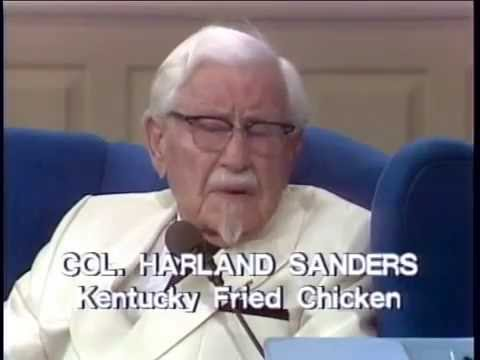 KFC-Kentucky Fried Chicken-Christian Billionaire, Colonel Sanders Testimony