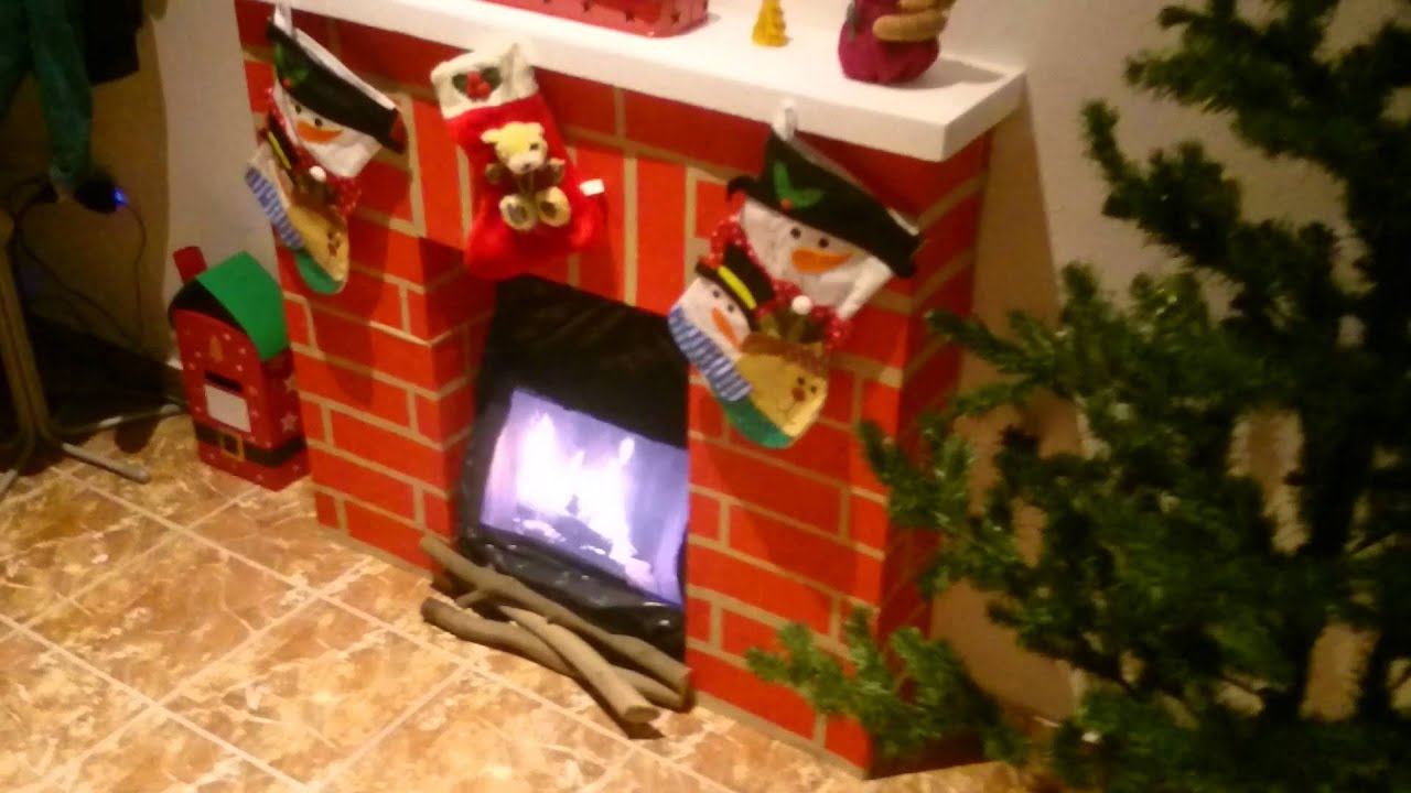 Fake Paper Fireplace Pap 237 Rkandall 243 Youtube