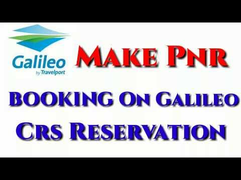 Galileo Flight Reservation