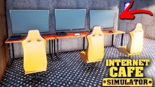MONTEI UMA SALA de JOGOS INCRÍVEL!!! - Internet Cafe Simulator