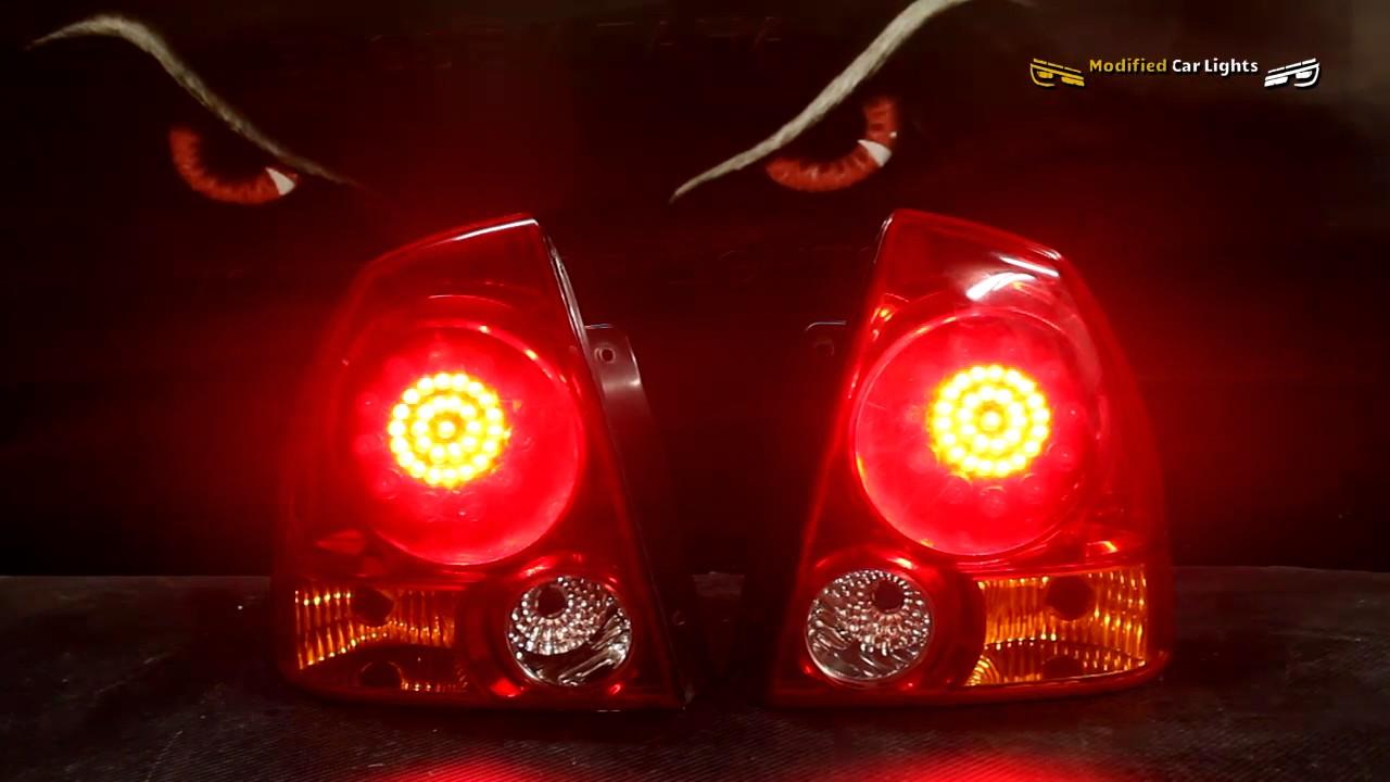 MODIFIED CAR LIGHTS    Automotive Lighting - verna tail