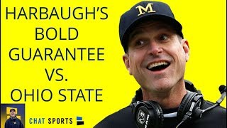 Jim Harbaugh Guarantees Victory Over Ohio State In 1986 - Michigan Football Report