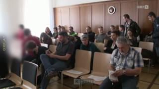 Antifa-Anschlag/Ulrichsberg-Ehrenhain: Prozess mit Grünen Parteihintergrund (ORF Kärnten)