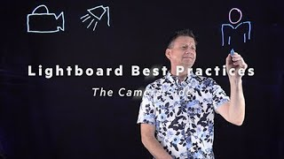 Lightboard Best Practices   The Camera Side