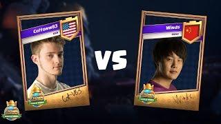 2017皇冠錦標賽全球總決賽16強賽第3場 - Coltonw83 vs Winds