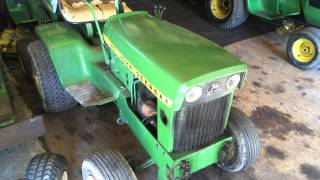 John Deere Garden Tractor Collection Update