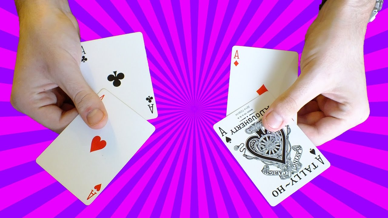 tour de magie expliqu facile avec 4 cartes youtube. Black Bedroom Furniture Sets. Home Design Ideas