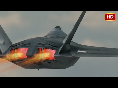 Extremely Powerful F-22 Raptor Shows Its Crazy Ability