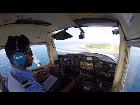 My First Full Solo. Flying from Gan, Maldives