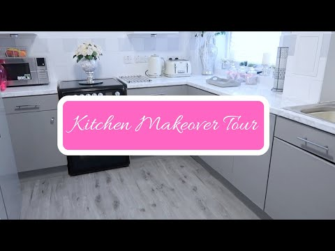 diy-kitchen-makeover-tour-|-home-decor-|-using-contact-paper