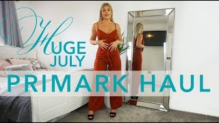 HUGE JULY TRY ON PRIMARK HAUL | AMY COOMBES