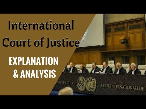International Court of Justice (ICJ) - Explanation and Analysis
