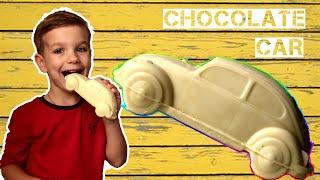 Марк и сборник серий для детей про шоколадные машинки и машинку торт.