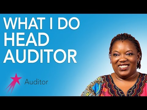 Auditor: What I Do - Desiree Gueassemon Career Girls Role Model