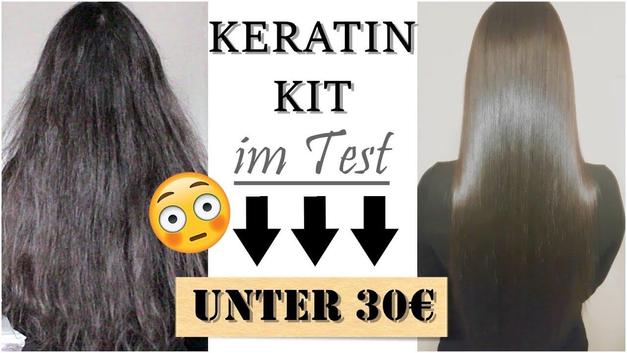 Keratin Behandlung Selber Machen Haarglättung Haarversiegelung