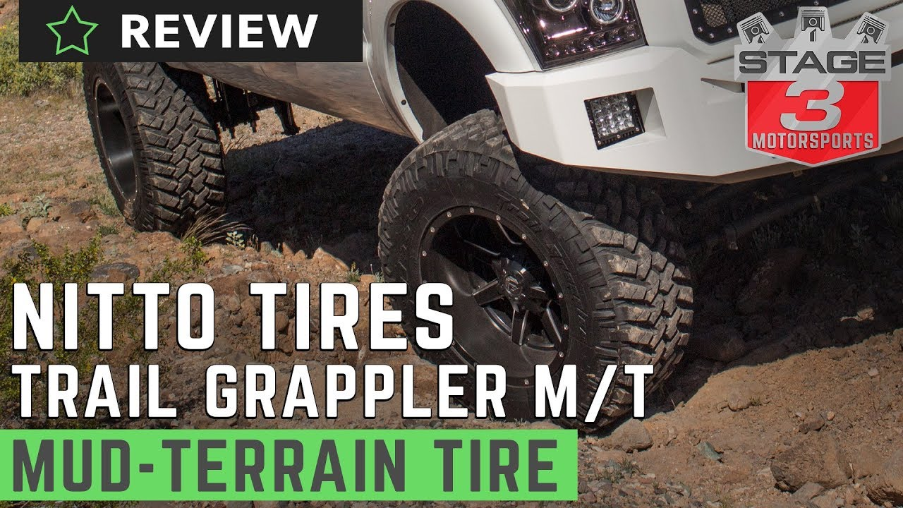 Nitto Trail Grappler M T Radial Tire Review Youtube