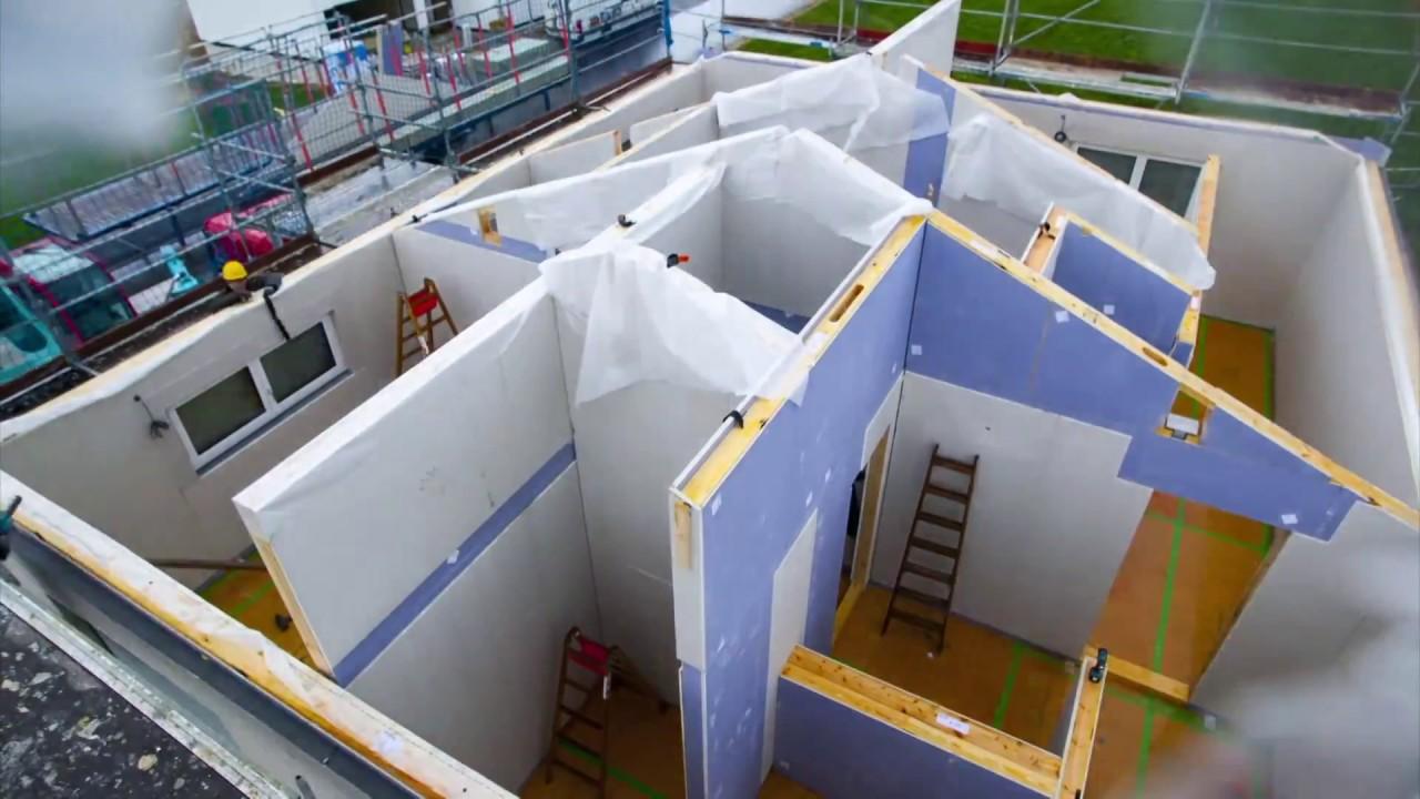 Der Weg Zum Fischerhaus Hausbau Erleben Am Produktionsstandort In