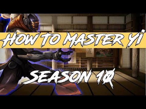 5 Tips Every Master Yi Needs To Know! League Of Legends Master Yi Guide Jungle Mid Top ADC