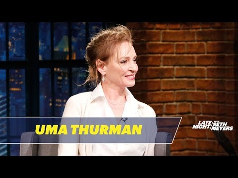 Uma Thurman Talks About Performing a Political Play in the Trump Era