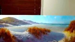 Landscape Oil Painting - Ocean Beach Commission