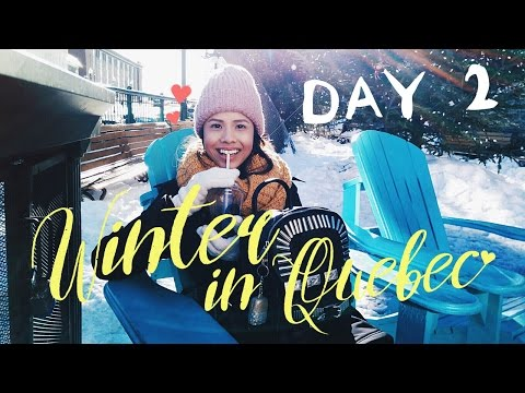 WINTER IN QUEBEC ❅ DAY 2 // Petit Champlain