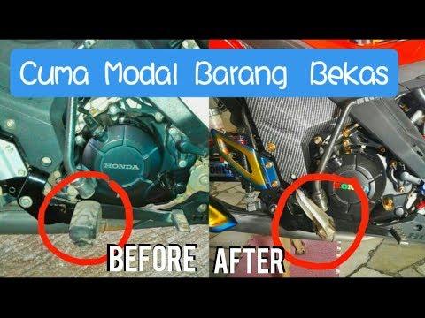 Trik Ganti Foot Step Motor Bebek menjadi Motor Sport