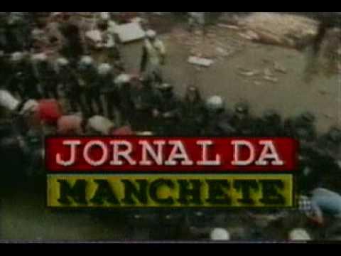 Chamada do Jornal da Manchete Maio 1999