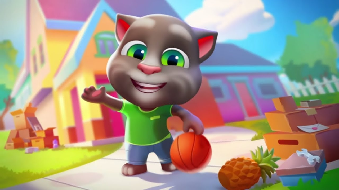 My Talking Tom Friends Is Here New Game Available Worldwide Youtube