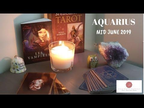 Repeat Aquarius Weekly June 12-18, 2019 It's your turn